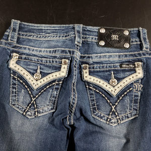Miss me signature bootcut jeans size 27